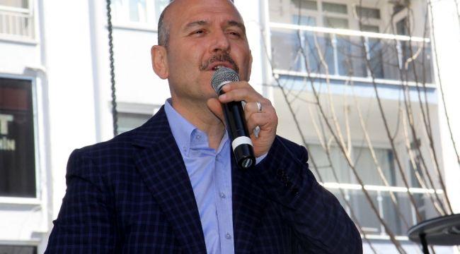 İçişleri Bakanı Soylu'dan jandarmaya kutlama