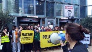 İklim savunucuları dev Fransız firmalarına girişi engelledi