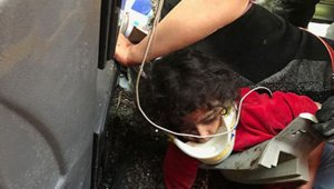İranlıları taşıyan otobüs devrildi: 3 ölü, 25 yaralı