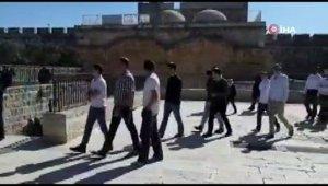 İsrail Tarım Bakanı Ariel, Mescidi Aksa'ya baskın düzenledi