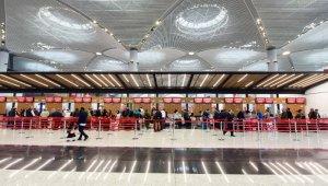 İstanbul Havalimanı'nı 634 bin yolcu kullandı