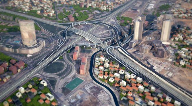 İstanbul trafiğini çözecek proje havadan görüntülendi