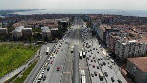İstanbul'da alışılmadık görüntü