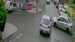 İstanbul'da faciadan dönüldü, sürücü şok geçirdi