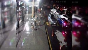 """İstanbul'da """"yok artık"""" dedirten hırsızlık kamerada"""
