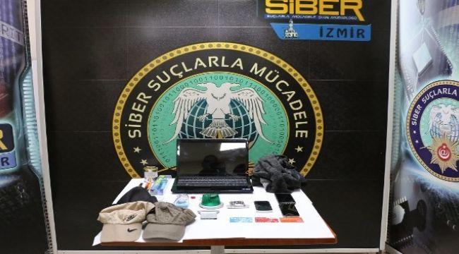 İzmir'de ATM'ye kopyalama aparatı yerleştirirken yakalandılar