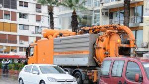 İzmir'de yağış seferberliği