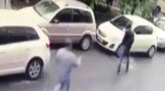 Kağıthane'de damat cinayeti kamerada