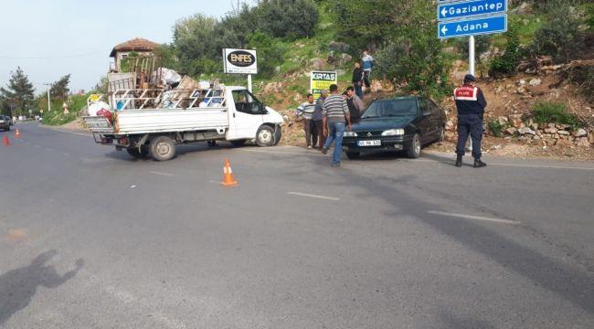 Kahramanmaraş'ta trafik kazası: 6 yaralı