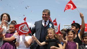 Karşıyaka'da bayram coşkusu!