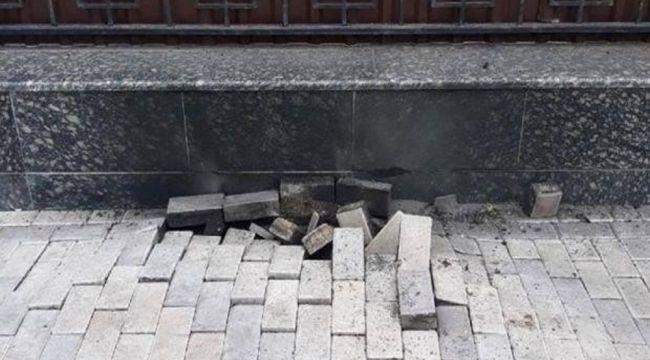 Kiev'deki Rus Büyükelçiliği yakınında patlama