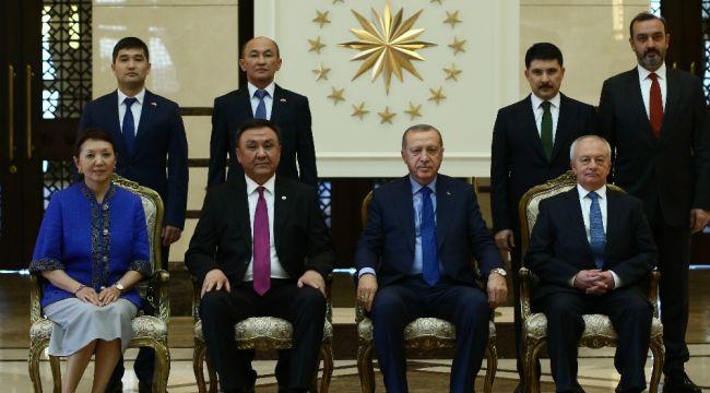 Kırgızistan Büyükelçisini kabul etti