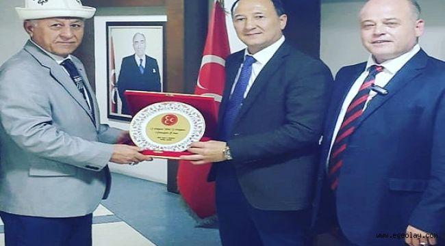 Kırgızistan İstanbul Başkonsolosundan MHP İzmir Yönetimine Ziyaret