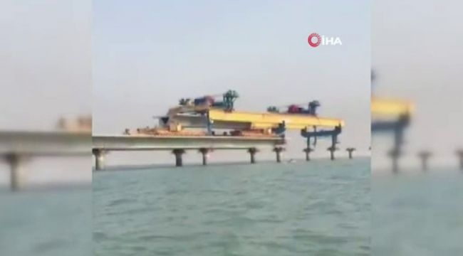 Kızıldeniz'deki köprü inşası hızla devam ediyor