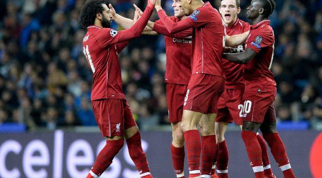 Liverpool, Porto'yu farklı geçti