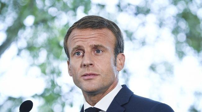 """Macron: """"Notre Dame Katedrali 5 yılda yeniden inşa edilecek"""""""