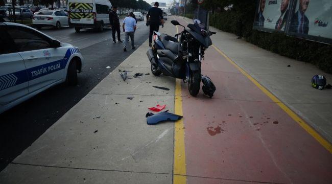 Maltepe sahil yolunda kaza: 1'i ağır 2 yaralı