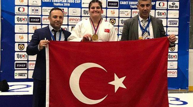 Manisalı judocu Avrupa şampiyonu oldu