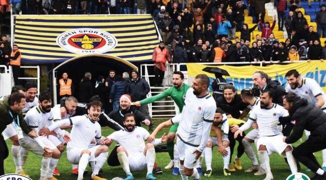 Menemen Belediyespor'a Başkan Aksoy Dopingi