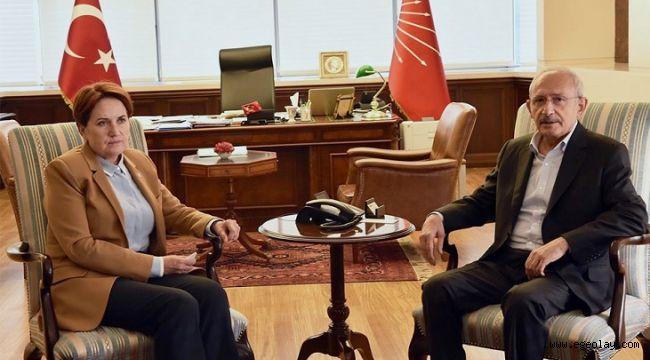 Meral Akşener'den Kılıçdaroğlu'na Geçmiş Olsun Ziyareti