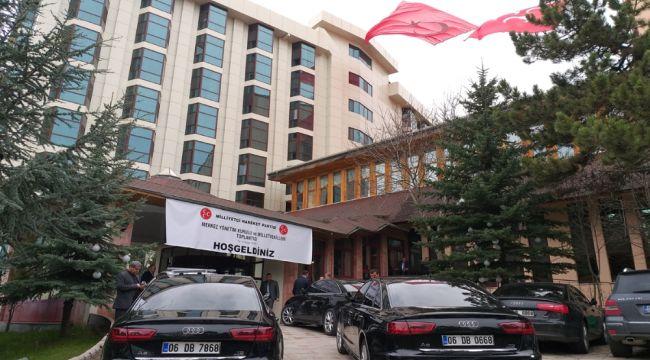 MHP kampının ilk gününde seçim sonuçlarını değerlendirdi