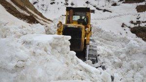 Muş'ta karla mücadele sürüyor