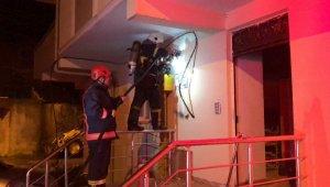 Ordu'da binada elektrik panosu patladı 9 kişi dumandan etkilendi