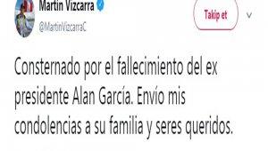 Peru'nun eski Devlet Başkanı Garcia intihar etti
