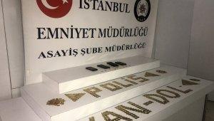 Sahte altın sikke satan Suriyeli şahıslar suçüstü yakalandı