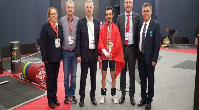 Şaziye Erdoğan, Avrupa şampiyonu oldu