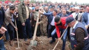 Şehit piyade er Mehmet Kaya Siirt'te toprağa verildi