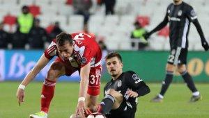 Spor Toto Süper Lig: DG Sivasspor: 1 - Beşiktaş: 2