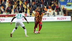 Spor Toto Süper Lig: E. Yeni Malatyaspor: 1 - Aytemiz Alanyaspor: 1