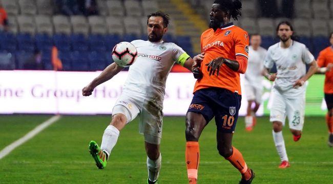 Spor Toto Süper Lig: Medipol Başakşehir: 2 - Atiker Konyaspor: 0