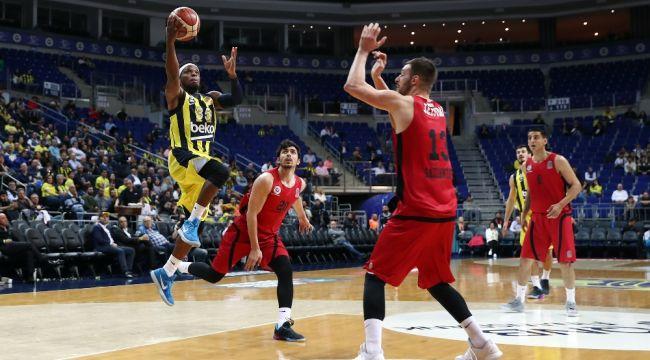 Tahincioğlu Basketbol Süper Ligi: Fenerbahçe Beko: 84 - Gaziantep Basketbol: 67