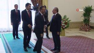 TBMM Başkanı Şentop tebrikleri kabul etti