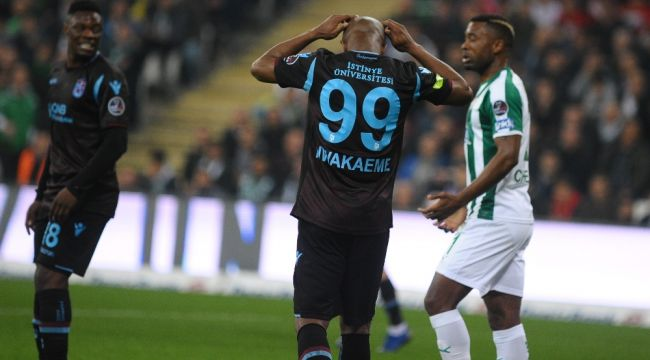 Trabzonspor, Bursaspor'u tek golle geçti
