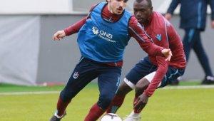 Trabzonspor'da Evkur Yeni Malatyaspor mesaisi sürdü