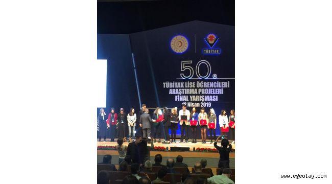 TÜBİTAK yarışmasında Türkiye 2.'si İzmir'den