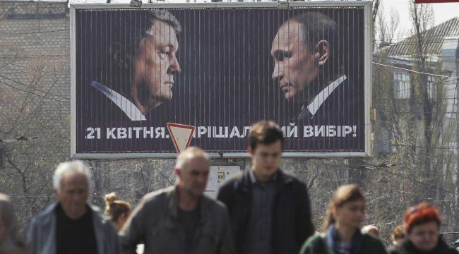 Ukrayna'da seçimler öncesi ortalık fena karıştı