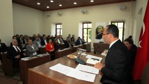 Urla Belediyesi yeni dönem ilk meclisini gerçekleştirdi