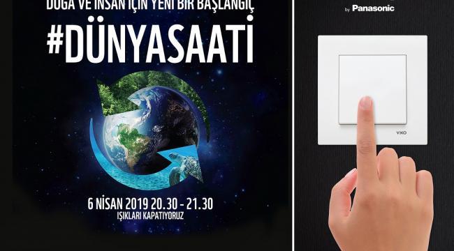 WWF-Türkiye'nin Dünya Saati Sponsoru Oldu
