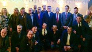 Yavuz Selim Kıran, New York'ta gurbetçilerle buluştu