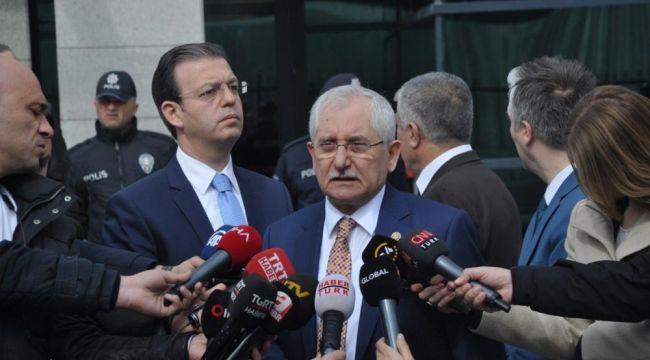 YSK Başkanı Sadi Güven'den açıklama