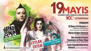 19 Mayıs coşkusu tüm İzmir'i saracak