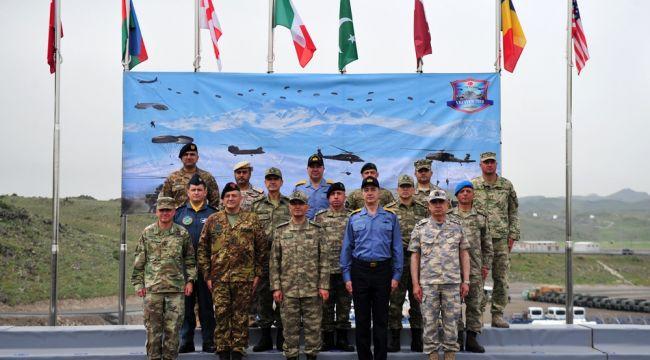 """7 ülkenin katıldığı """"Barışı Destekleme Harekatı"""" nefes kesti"""