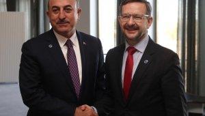 AGİT Genel Sekreteri Greminger ile görüştü