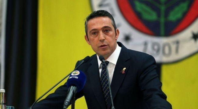 """Ali Koç: """"Fenerbahçe olarak sesimizi yükselteceğiz"""""""