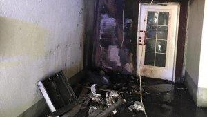 Almanya'da Ulu Cami'de yangın