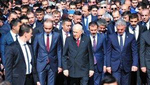 """Bahçeli: """"Türkiye'nin beka mücadelesinden ödün vermeyeceğiz"""""""